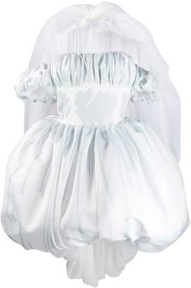 Moschino Brushstroke Duchess wedding dress