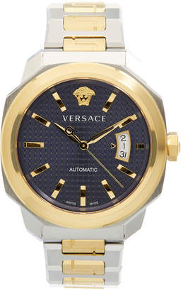 Versace Dylon Three-Hand Stainless St-Shirtl Watch, 42Mm