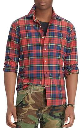 Polo Ralph Lauren Plaid Classic Fit Oxford Shirt