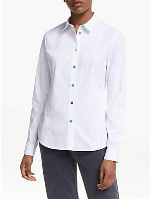 Paul Smith Multi Button Shirt, White
