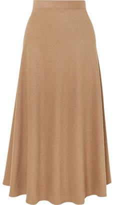 Giuliva Heritage Collection Ada Camel Hair-blend Midi Skirt
