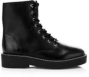 Schutz Women's McKenzie Leather Combat Boots