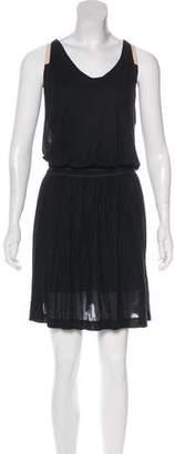 A.L.C. Layered Sleeveless Knee-Length Dress