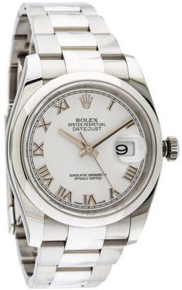 Rolex Datejust Watch $4,995 thestylecure.com