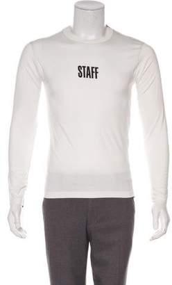 Vetements x Hanes 2017 Staff Long Sleeve T-shirt