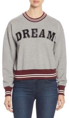 No.21 No. 21 Dream Crewneck Cotton Sweatshirt