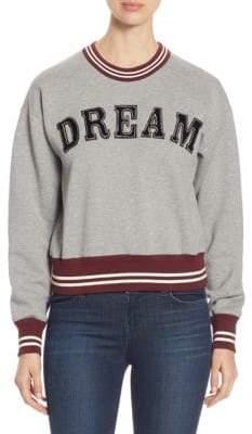 No.21 NO. 21 Dream Crewneck Cotton Sweatshirt