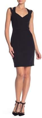 Milly Cutout Back Mini Dress