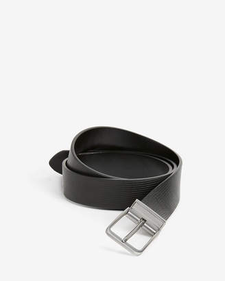 Express Reversible Matte Square Prong Buckle Belt