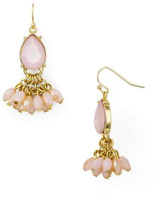 Aqua Crystal Drop Earrings - 100% Exclusive