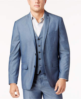 INC International Concepts I.n.c. Men's Chambray Suit Jacket