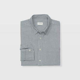 Club Monaco Slim Seersucker Stripe Shirt