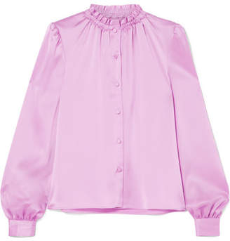 Co Satin-twill Blouse - Pink
