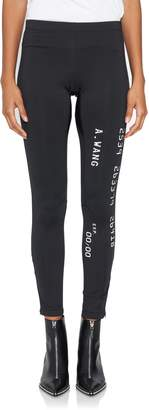 Alexander Wang Scuba Leggings With Reflective Detail