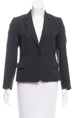 Dries Van Noten Wool Notch-Lapel Blazer