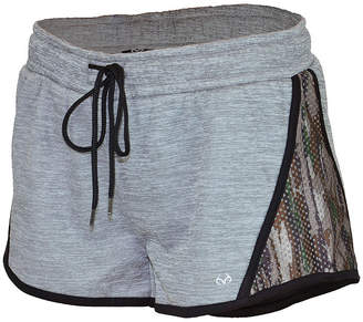 Realtree Glide 2 1/2 Fleece Workout Shorts