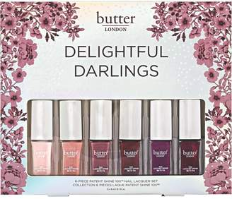 Butter London 6-Piece Petite Patent Shine 10X Nail Lacquer Collection