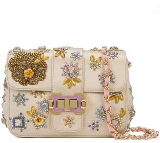 Monique Lhuillier beaded shoulder bag