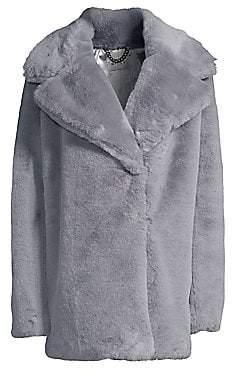 Milly Women's Riley Faux Fur Coat