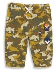 Joe's Jeans Little Boy's Dale Camouflage Jogger Shorts