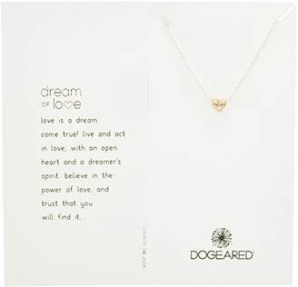 Dogeared Dream of Love Sterling Silver Chain Necklace