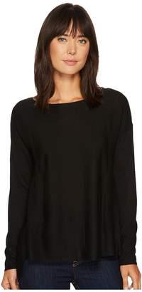 NYDJ Boat Neck Sweater w/ Split Back Women's Sweater