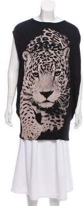 Stella McCartney Animal Print Jersey Tunic