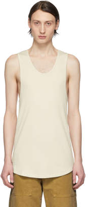 Billy Off-White Colton Undershirt Tank Top