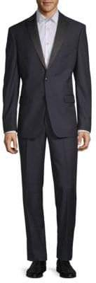 Calvin Klein Medallion Wool Suit