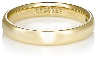 Barneys New York Men's Thin Domed Band