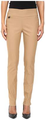Lisette L Montreal Solid Magical Lycra Slim Pants Women's Casual Pants