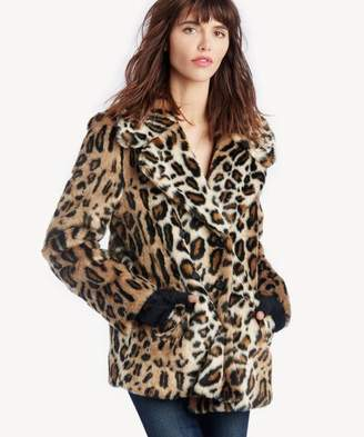 Sole Society Seeing Spots Faux Fur Coat