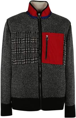 Tommy Hilfiger Patched Full Zip Cardigan