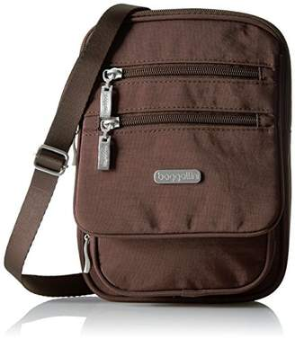 Baggallini Journey Crossbody Bag – Multi-Pocketed, Lightweight and Water Resistant Nylon Travel Purse