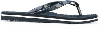 Tommy Hilfiger branded flip flops $48.58 thestylecure.com