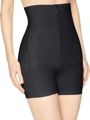 Annette Women's Extra Firm Control High Waist Boy Short with Front Zipper