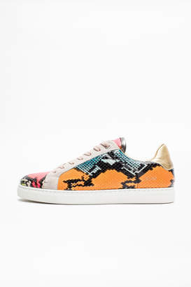 Zadig & Voltaire Zv1747 Wild Fluo Sneakers