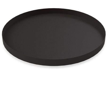Cooee Design Tablett Circle rund 40cm, schwarz