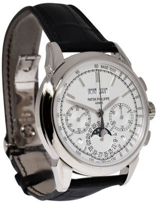 Patek Philippe Grand Complications 5270G-013 Chronograph 18K White Gold Mens Watch $147,263 thestylecure.com