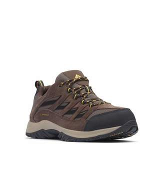 Columbia Men's Crestwood Waterproof Hiking Boot Breathable High-Traction Grip Boot