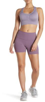 90 Degree By Reflex Interlink High Rise Peached Pocket Shorts
