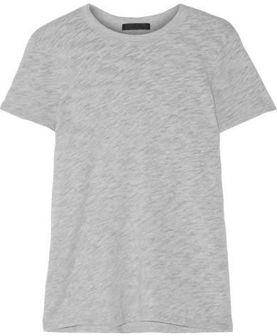 ATM Anthony Thomas Melillo Schoolboy Slub Cotton-blend Jersey T-shirt