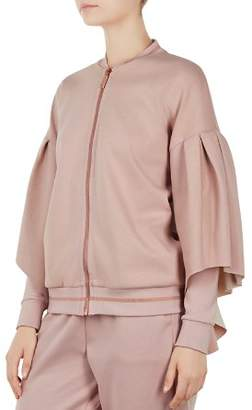 Ted Baker Ted Says Relax Amithie Bell-Sleeve Bomber Jacket