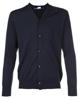Junya Watanabe Comme des Garcons Man classic dual material cardigan $638 thestylecure.com