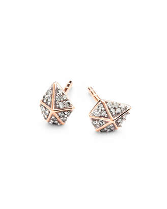 Kendra Scott Manet Stud Earrings in White Diamond