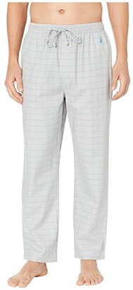 Nautica Herringbone Plaid Sleep Pants