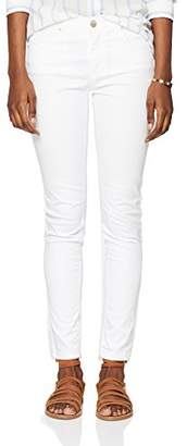 Jijil Women's Jpe18Pj024 Straight Jeans, (Bianco 1), (Size: )