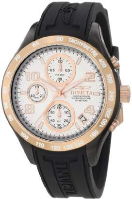 Invicta Women's 12099 Specialty Chronograph Silver Dial Polyurethane Watch