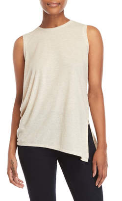 Halston Cutout Back Tank Top