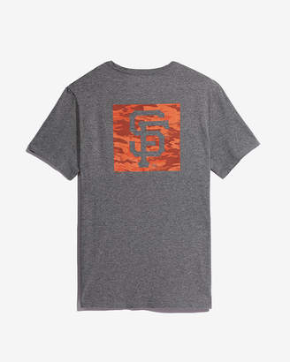 Express San Francisco Giants Camo Graphic Tee